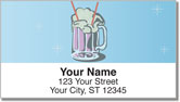 Sock Hop Address Labels