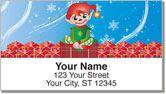Christmas Elf Address Labels