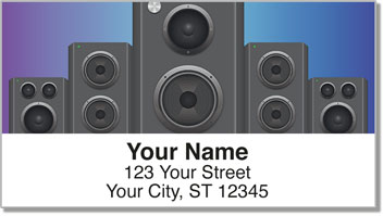 Feel the Beat Address Labels