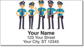Police Address Labels