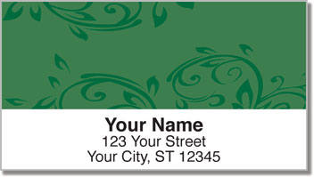 Fresh & Flourishing  Address Labels