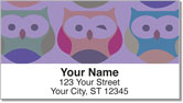Winking Owl Address Labels