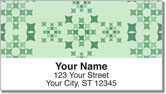 Quilt Square Address Labels