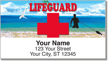 Lifeguard Address Labels