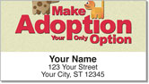Animal Adoption Address Labels