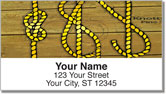 Knot Tying Address Labels