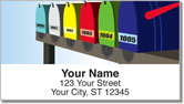 Mailbox Address Labels