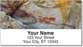 Cave Painting Address Labels