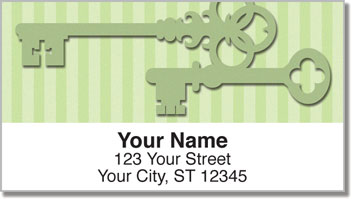 Skeleton Key Address Labels