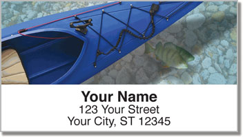 Kayak Address Labels
