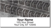 Tire Tread Address Labels