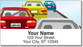 Traffic Jam Address Labels
