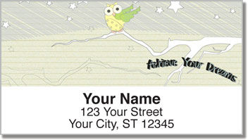 Inspiring Doodle Address Labels