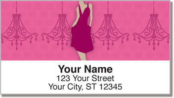 Fashionista Address Labels