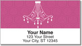 Chandelier Address Labels