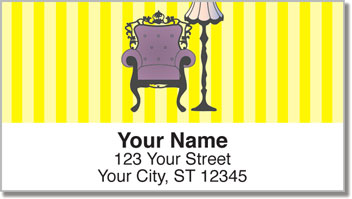 Victorian Furniture Address Labels