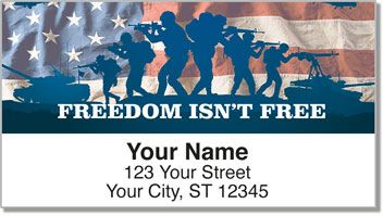 Price of Freedom Address Labels