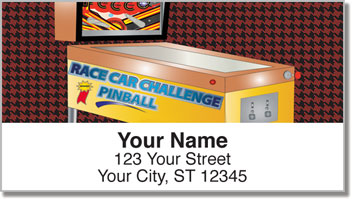 Pinball Address Labels