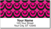 Pink Party Address Labels