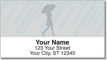 Spring Shower Address Labels