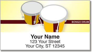 Funky Music Address Labels