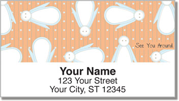 Cute Greeting Address Labels