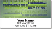 Sound Wave Address Labels