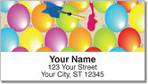 Carnival Game Address Labels