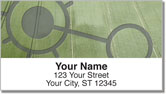 Crop Circle Address Labels