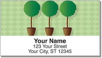Topiary Address Labels