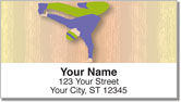 Break Dancing Address Labels