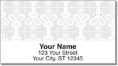 Lace Doily Address Labels