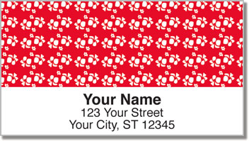 Hawaiian Shirt Address Labels