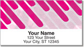 Dashing Diagonal Address Labels
