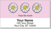 Daisy Design Address Labels