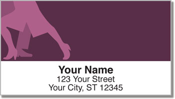 Ballroom Dancing Address Labels