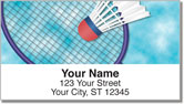 Badminton Address Labels