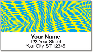 Polka Dot Perception Address Labels
