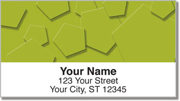 3D Shape Address Labels