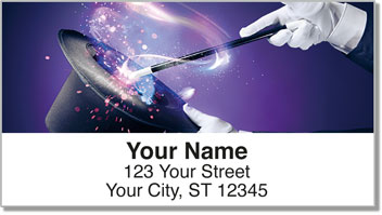 Magic Trick Address Labels