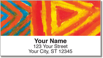Color Study Address Labels