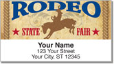 Rodeo Address Labels