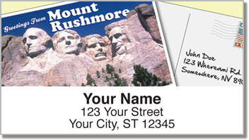 Postcard Address Labels