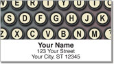 Keyboard Address Labels