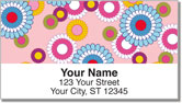 Flashback Flower Address Labels