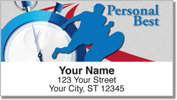 Track & Field Address Labels