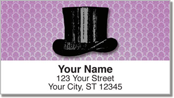 Derby & Top Hat Address Labels