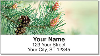 Beautiful Branches Address Labels