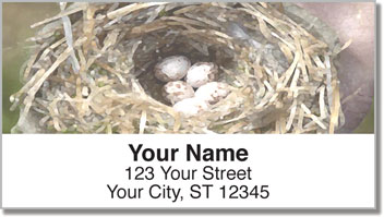 Oil Painting Address Labels