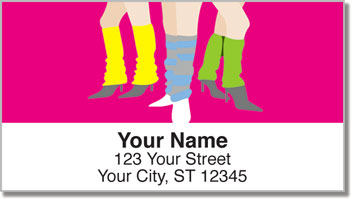 1980s Style Address Labels